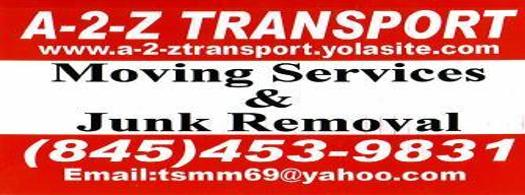 A-2-Z TRANSPORT MOVING / JUNK REMOVAL / GENERAL LABOR